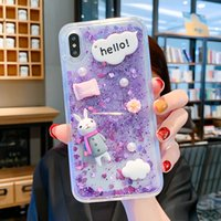 Wholesale cute chinese wallets resale online - Cute Quicksand Shell Phone Case Shell Iphone pro Cell Phone Cases X XS XR XS MAX Water Resistant Dirt resistant