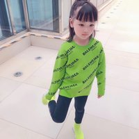 Wholesale chinese baby boy clothing resale online - Thicken Girls Sweaters Winter New Kids Boys knitting Clothing Pullover Baby Boys green Sweater tops