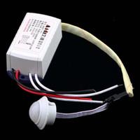 инфракрасный датчик движения оптовых-Айди сервере ad01-R1 в ИК инфракрасный модуль кузова интеллектуальный датчик света движения воспринимая переключатель новый
