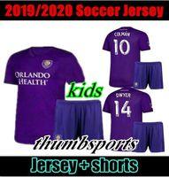 Wholesale orlando city soccer jerseys resale online - 10 free DHL Thai qualtiy MLS Orlando City soccer kids jersey KAKA DWYER COLMAN J MENDEZ NANI football jerseys shirts