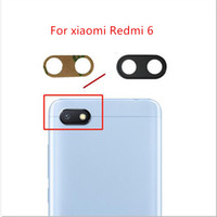 Wholesale 2pcs for Xiaomi Redmi Camera Glass Lens Back Rear Camera Glass Lens Replacement Repair Spare Parts with Glue
