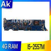 материнская плата fm1 оптовых-Ак UX31E ноутбук материнская плата для ASUS UX31E Ux31 тест оригинальный материнская плата 4G RAM I5-2557M