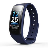 Wholesale korean recorder for sale - Group buy IP67 Waterproof Smart Bracelet Outdoor Fitness Tracker Running Walking Pedometer Heart Rate Monitor Health Sleep Hours Recorder