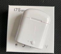 xiaomi bluetooth box großhandel-i7s TWS Drahtloser Bluetooth-Kopfhörer In-Ear-Stereo-Gaming-Sport-Ohrhörer mit Ladekasten für iPhone Xiaomi huawei