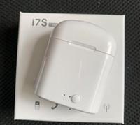 caixa bluetooth xiaomi venda por atacado-I7s tws sem fio bluetooth fone de ouvido fone de ouvido estéreo esporte gaming earbuds com caixa de carregamento para iphone xiaomi huawei