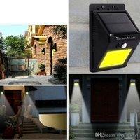 neue solar-led-leuchten großhandel-NEUE 20 LED Solar Power Spot Bewegungsmelder Outdoor Garten Wandleuchte Sicherheit Lampe Dachrinne
