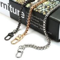 Wholesale bag handle parts resale online - AEQUEEN DIY Chain Strap Metal Strap cm Shoulder Bag Straps Replacement Belts Bag Accessories Parts Snake Long Belts Handle