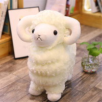 Wholesale christmas gift for girlfriend year online - 20170617 Grass mud sheep doll small sheep goat alpaca plush cute doll doll pillow birthday gift for girlfriend