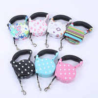 Wholesale dog collars for sale - Group buy 5M Retractable Dog Leashes lead Pets Cats Puppy Leash Lead Automatic Retractable Dog Collars Walking Lead for Small and Medium Pet RRA1864