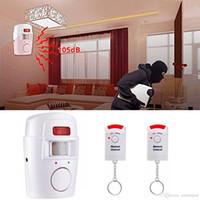 Wholesale outdoor sensor indoor alarm resale online - Wireless Motion Sensor Alarm Security Detector Indoor Outdoor Wall Alert System for Office Shop Market