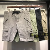 Wholesale working hats resale online - most fashion Spring summer mens work shorts stitching perfect detail reflective strip cool running training shorts for