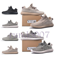 Wholesale black flat oxford shoes women for sale - Group buy With box new quality kanye west v1 static pirate black turtle dove moonrock Oxford Classic Gray blaek men women shoes designer sneakers
