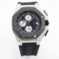 buenos relojes deportivos al por mayor-S2-2019 Relojes de hombres de lujo de excelente calidad de acero inoxidable de la banda de 44 mm de banda de 44 mm de banda de lujo de hombres de lujo de primera marca