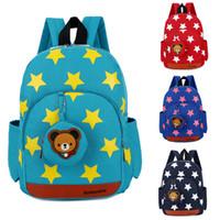 kindergartenrucksäcke großhandel-Junge Mädchen Charakter Rucksäcke Kinder Schule Mittagessen Buch Taschen Reise Kindergarten Rucksack