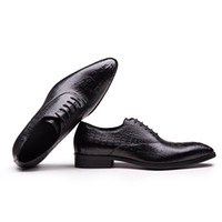 Wholesale cool business men shoes for sale - Group buy Fashion2019 England Sharp Business Affairs Male Cool Chalaza Hairstyle Division Man Leather Shoes Banquet Party Shoe