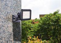 Wholesale wholesale lighting online - Radar induction wall lamp led outdoor indoor USB charging garage lawn spotlights flood light LEDs SMD5730 W lm mA Emergency