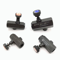 hot wholesales hydraulic speed control valve PT 3 8'' double direction speed regulation control valve G