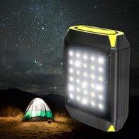 ingrosso lampada del port del usb-30 LED Lanterna da campeggio Lampeggiatore Torcia elettrica portatile Power Bank Porta USB Tenda da campeggio Lampada da esterno portatile