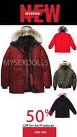 Wholesale silver fashion long resale online - Top Quality New Mens Fashion parka Waterproof Windstopper Advanced Fabric Thick Down With Real Wolf Fur Winter Keep Warm Jacket coat factory