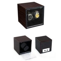 Wholesale LISCN Shaker Automatic Watch Winder Brand Watches Display Box Silent Watch Csket Winder Japan Motor Maintenance Machine BOXES