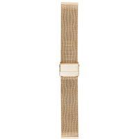 нержавеющая сталь оптовых-Durable Band Solid Bracelet Mesh Stainless Steel Double Buckle Watch Strap Milanese Fashion