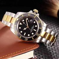 ovale uhren männer großhandel-Neue Luxus Herrenuhren Qualität Uhren Mode Männer Edelstahlarmband Automatische Mechanische Uhr 2813 Bewegung Armbanduhr Saphir