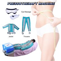 Wholesale used detox machines for sale - Group buy Portable pressotherapy lymph drainage machine body slimming lymphatic drainage Body Detox Weight Loss For Salon Use