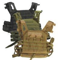 chaleco de carga al por mayor-Caza táctico Accessoris Body Armor CPM portador de la placa chaleco de municiones revista Chest Rig Paintball Gear Cargando oso chalecos