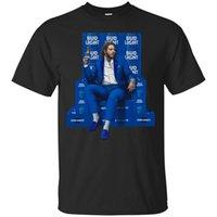 ingrosso più le magliette di novità di formato-Post Malone Bud Light T SHIRT T-Shirt da uomo calda a buon mercato con scollo tondo da uomo T-Shirt da uomo Novità estiva T-SHIRT PLUS TAGLIA