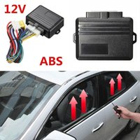 Wholesale auto close car windows resale online - 1 Set Universal V V Auto Safety Power Window Roll Up Closer Universal for Doors Windows Car Alarm Module Car Protector