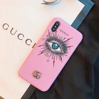 ingrosso casi di cellule di qualità-Stilista di lusso di lusso Custodia per cellulare Custodia in pelle di alta qualità Custodia famosa per iPhone X XS XR Xs Max 7 7plus 8 8plus 6 6plus A12