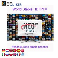Wholesale smart sticks resale online - French Arabic Neotv iptv subscription Neopro Live channels movies year free for smart tv fire stick android tv box MAG