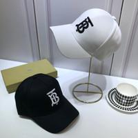 chapeaux d'été blanc dames achat en gros de-UK B Accueil 19ss Femmes Chapeaux Chapeau D'été Chapeau Noir Blanc Élégant Casquette Broderie Chapeau De Baseball Casquette