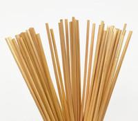 pacote quente portátil venda por atacado-Hot Dining Bar 100PCS / Pacote 20CM Natural palha de trigo Environmentally Friendly Bar Straw Acessórios de cozinha palhas portátil Beber