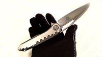 hafif katlanır bıçak toptan satış-Mükemmel Özel Bıçak Sigil Ayna Işık Şam Çelik Titanyum Kolu Taktik Katlanır Bıçaklar En Iyi EDC Survival Araçları Ücretsiz Kargo