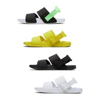 sandálias de plataforma amarela venda por atacado-Atacado Leadcat YLM Lite Designer de Moda Plataforma de Sandálias das Mulheres dos homens Chinelos Triplo Preto Branco Amarelo Verde Tamanho 36-44