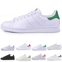 Wholesale stan smith women shoes for sale - Group buy Summer Smith Casual shoes Cheap Raf Simons Stan Smiths Spring Copper White Pink Black Fashion Man Leather brand woman shoes Flats Sneakers