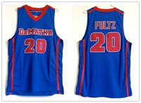 Wholesale jersey basketball name number resale online - custom made DeMatha Catholic High School Markelle Fultz man women youth basketball jerseys size S XL any name number
