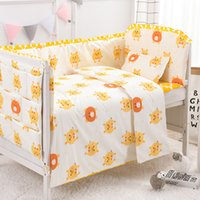 Wholesale nursery bedding sets unisex for sale - Group buy 6 Baby Bedding Set baby nursery Nordic Cotton crib set Cot Bedding Soft Infant Bed Clothes cm