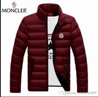 Wholesale long parka for man down jacket resale online – Fashion Winter Down Long Men s Warm Jacket Designer Male Hooded Coat Brand Jackets for Men Parkas Plus High Quality MON01