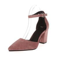 Wholesale purple glitter high heel shoes resale online - Fashion High Heels Newest Women Pumps Summer Women Shoes Thick Heel Pumps Comfortable Shoes Woman Platform Shoes