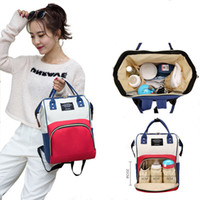 Wholesale baby diapers products resale online - New Baby Care Product Multifunctional Baby Diaper Bag Waterproof Denim Diaper Bag Backpack Girl boy Dropshipping