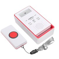 Wholesale wireless emergency alarm for sale - Group buy Wireless SOS Emergency Dialer Alarm System Panic Button Elderly Handicapped Red
