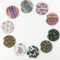 pe materialien großhandel-Tee-Pads Tauchmaterial Farbe Mix Auto Coaster Hitzebeständige Wassermatten Kreative Tischdekoration Neue Ankunft 1 6ny E1