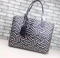 ingrosso borse medie delle signore-Borse per shopping bag della borsa di stile della Francia di Parigi del progettista della signora delle donne di modo di grandi e medie dimensioni