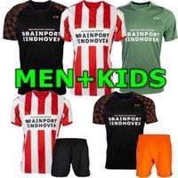 kits de fútbol para niños al por mayor-19 20 PSV Eindhoven Home away hombre y niños kits de jersey de fútbol para niños H.LOZANO MAXI PEREIRO L.DE JONG 2019 HOME BOY SET JERSEY CAMISETAS DE FÚTBOL