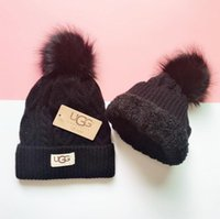 Wholesale grey top hats resale online - Men women s winter beanie men hat casual knitted caps hats men sports cap black grey white yellow hight quality skull caps G5363
