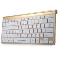 masaüstü ide toptan satış-Motospeed G9800 2.4G Kablosuz Ultra-ince Klavye ve Masaüstü PC için Optik 1200 DPI Fare Combo