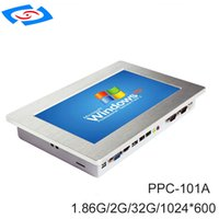 Wholesale touch tablet inches for sale - Group buy Fanless All In One PC inch Touch Screen Industrial Tablet PC IP65 DustProof And Waterproof With Solid State Drive G SSD