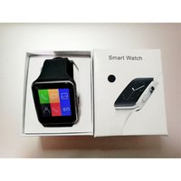 Wholesale phone lg x6 online – custom Curved Screen X6 Smartwatch Smart Watch Bracelet Phone With SIM TF Card Slot With Camera For LG Samsung Sony All Android Mobile Phone